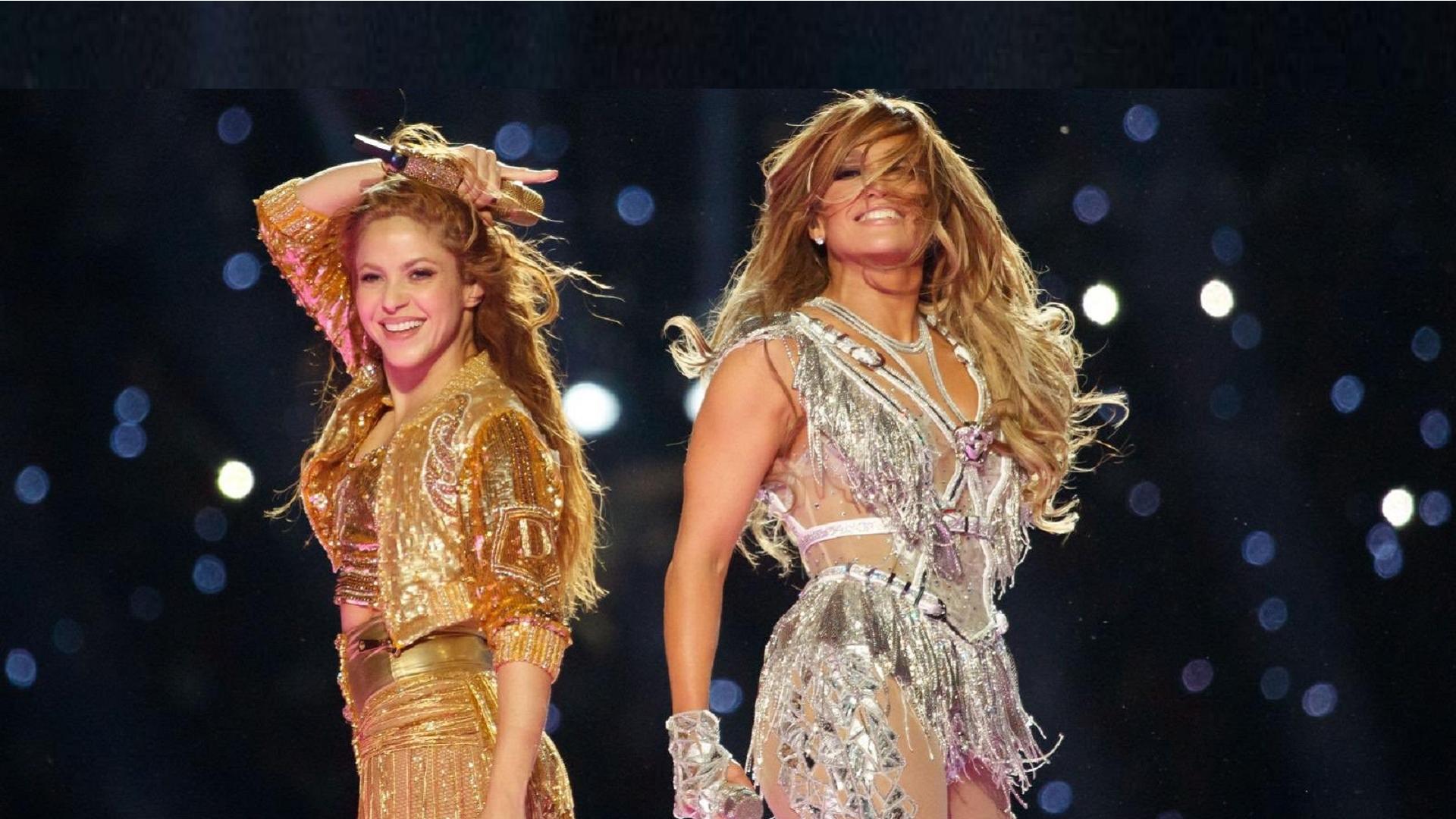 Jennifer López y Shakira Super Bowl