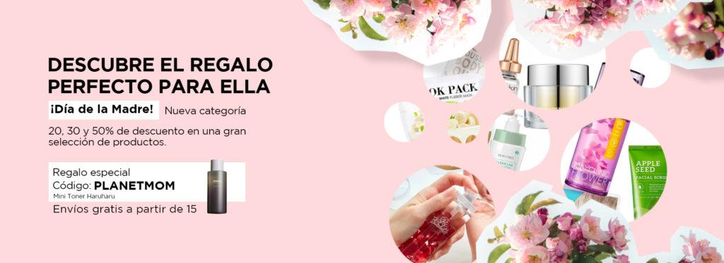 Consigue tu tratamiento de cosmética coreana con descuento por el día de la madre con Planet Skin