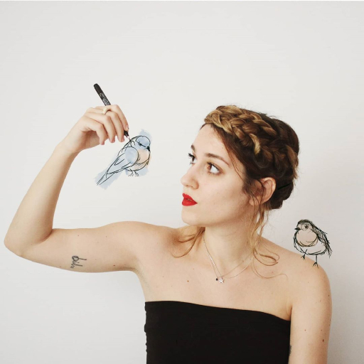 Sara Búho, poesía urbana