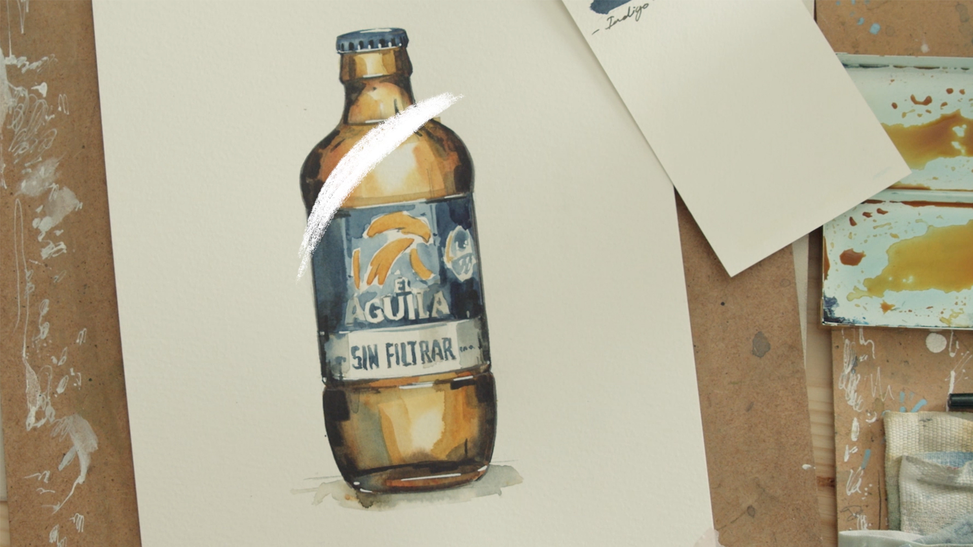 Cervezas El Águila homenajea el sabor 'sin filtros'