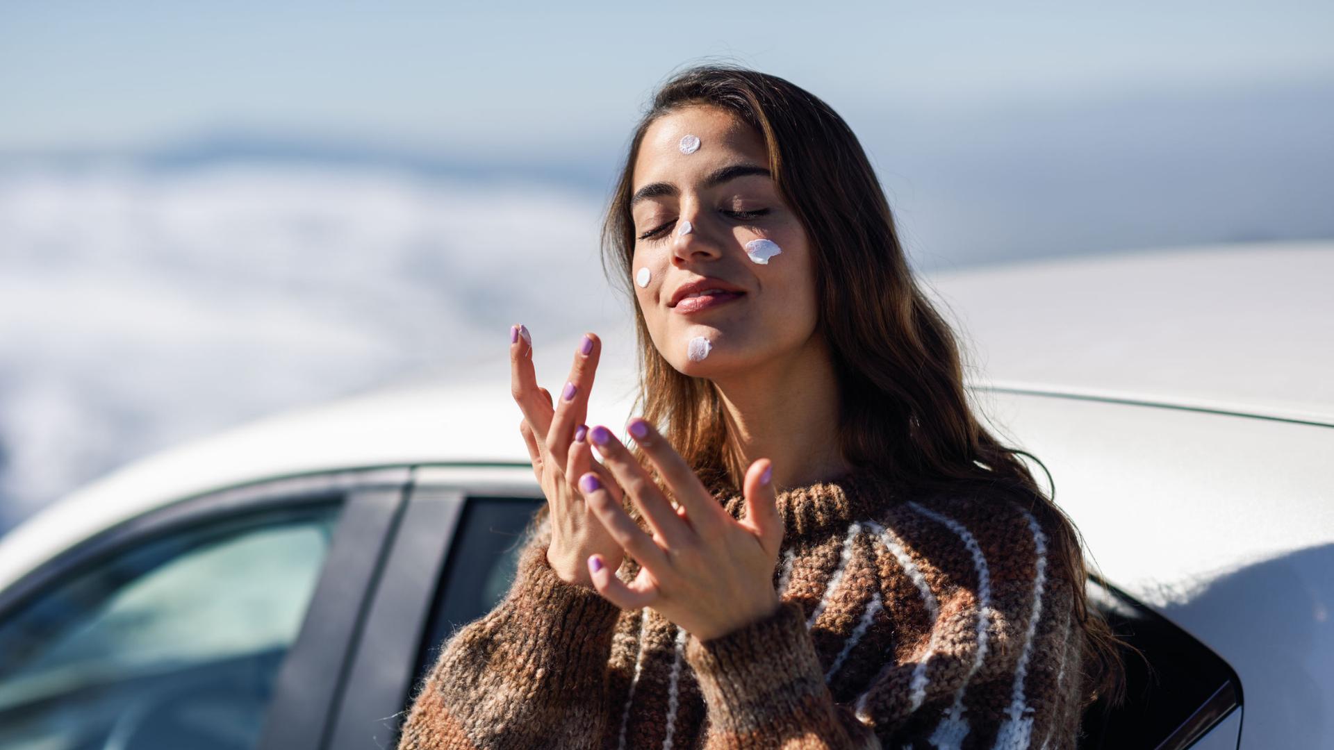 Maquíllate cada día, sea verano o invierno, con protección solar