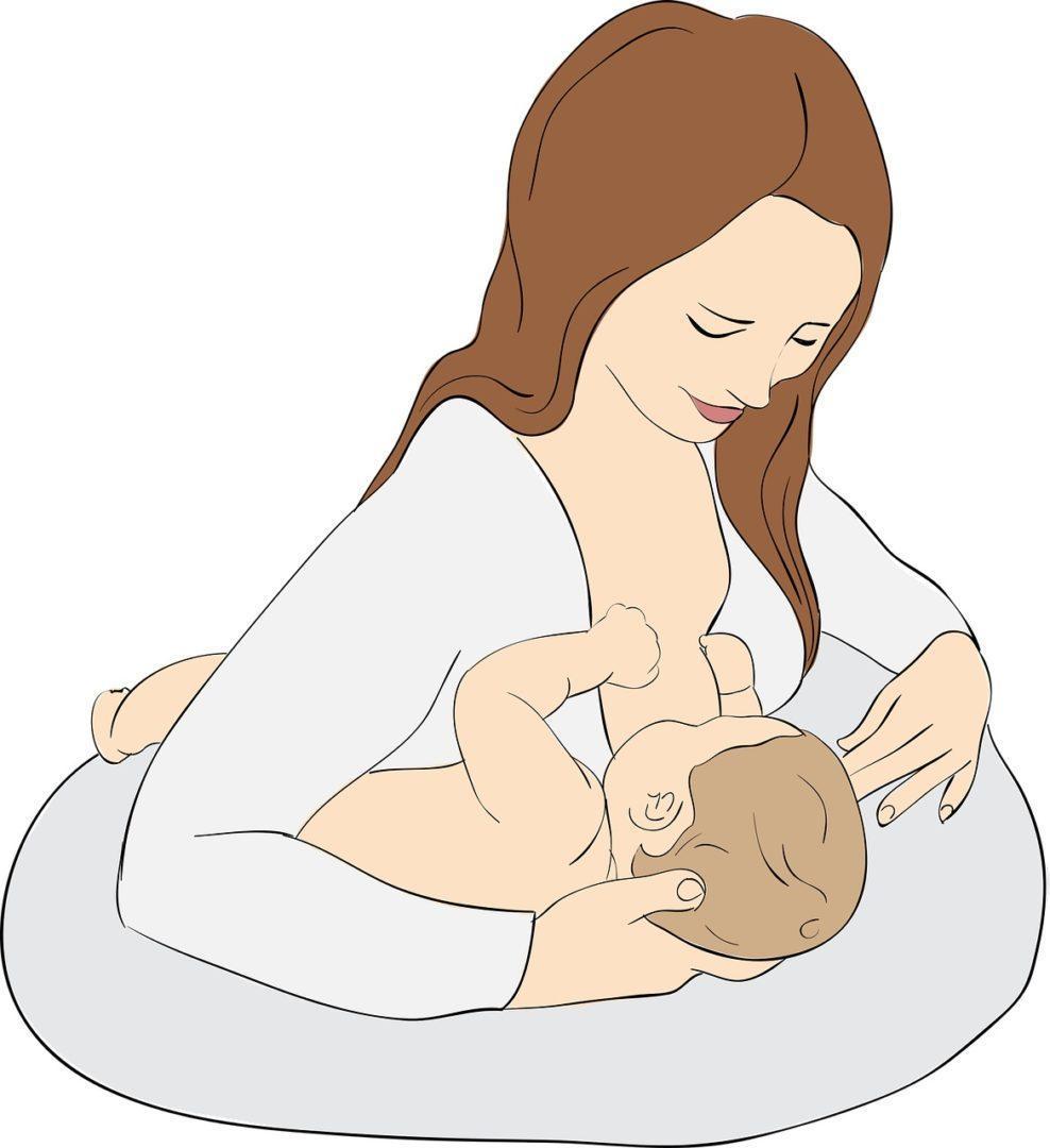 Lactancia, mejores formas dar pecho a bebé