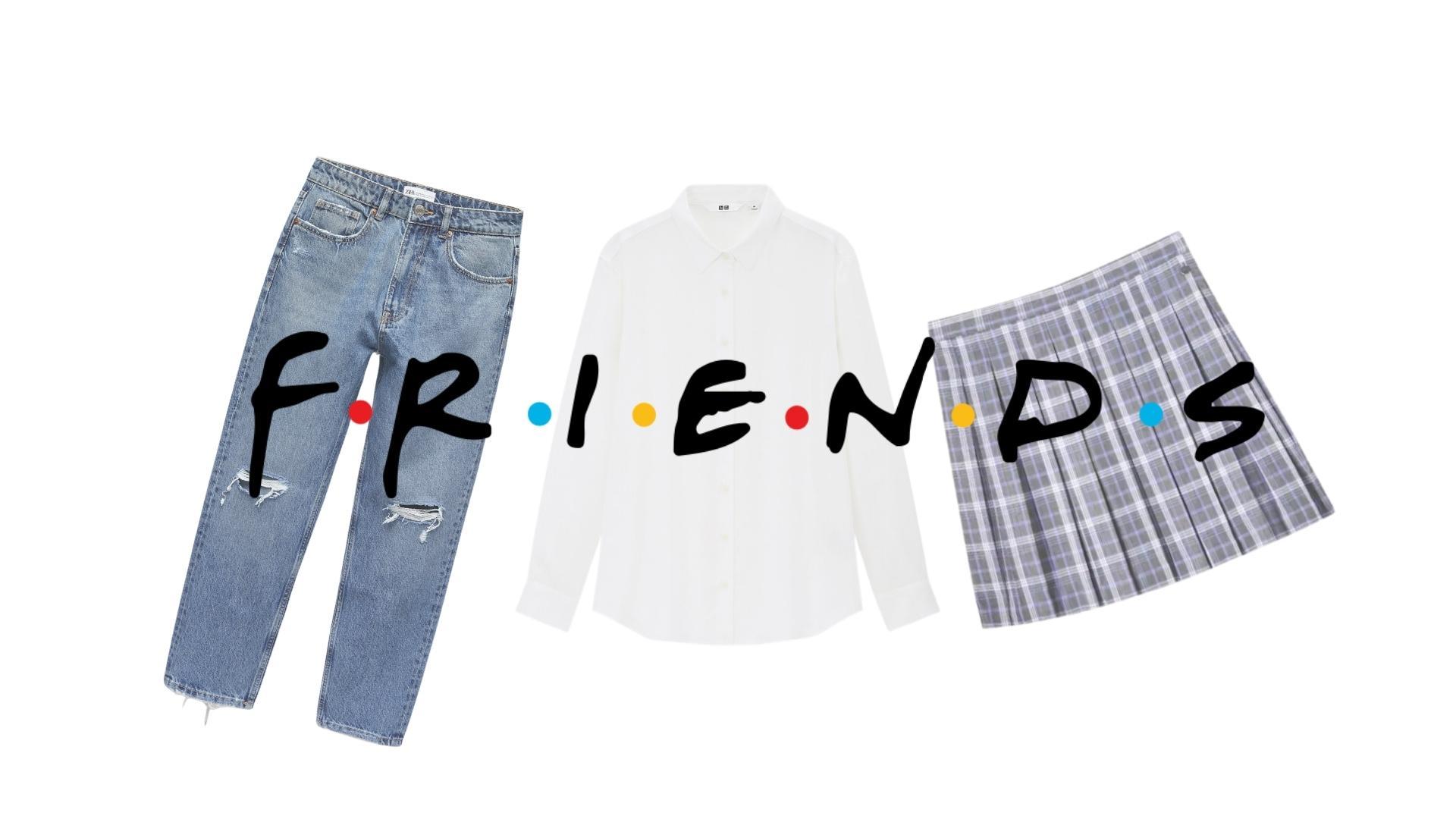 Looks de la serie Friends para acaparar miradas