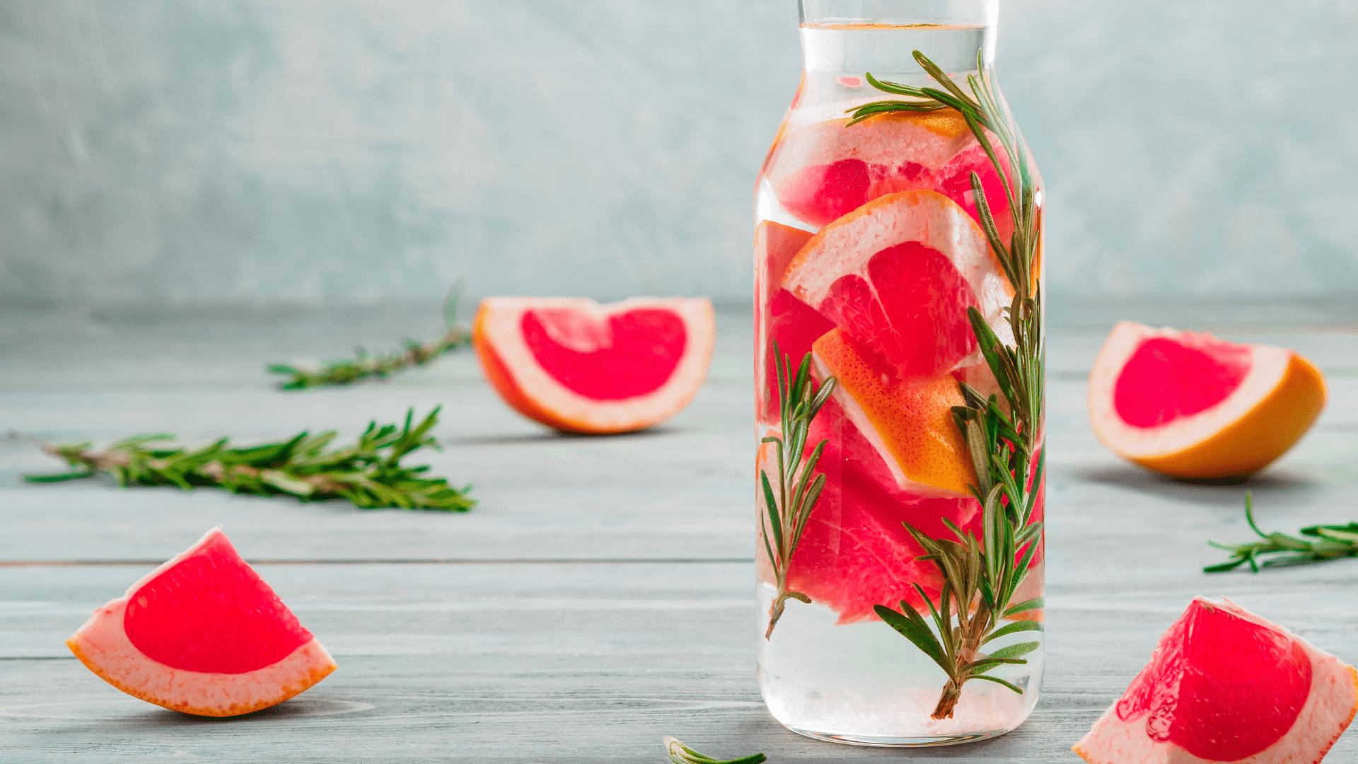 Tips para elaborar tu propia agua infusionada casera