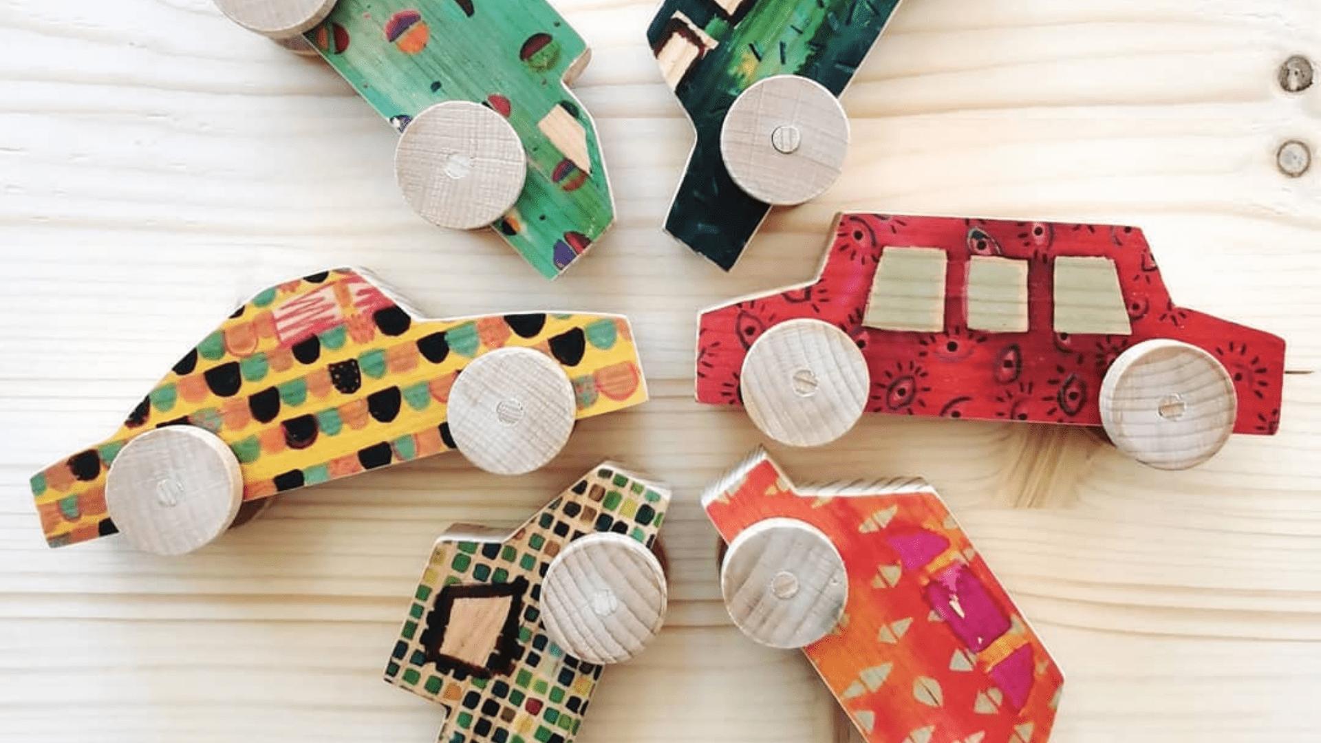 Palopalú, juguetes originales de madera
