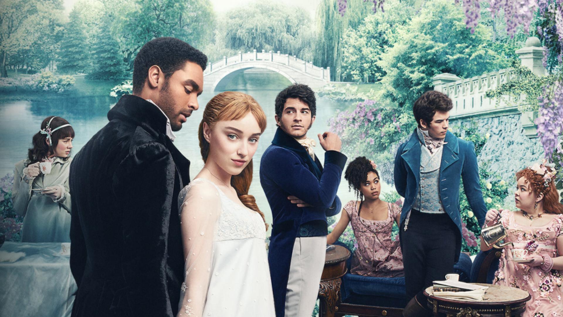 Los Bridgerton: el vestuario de la serie es plena tendencia