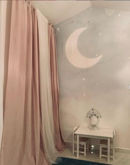 habitación de la hija de Soraya